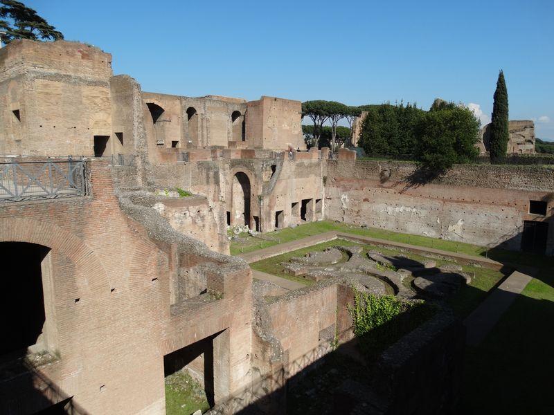 Haus der Livia - Ehefrau des Augustus