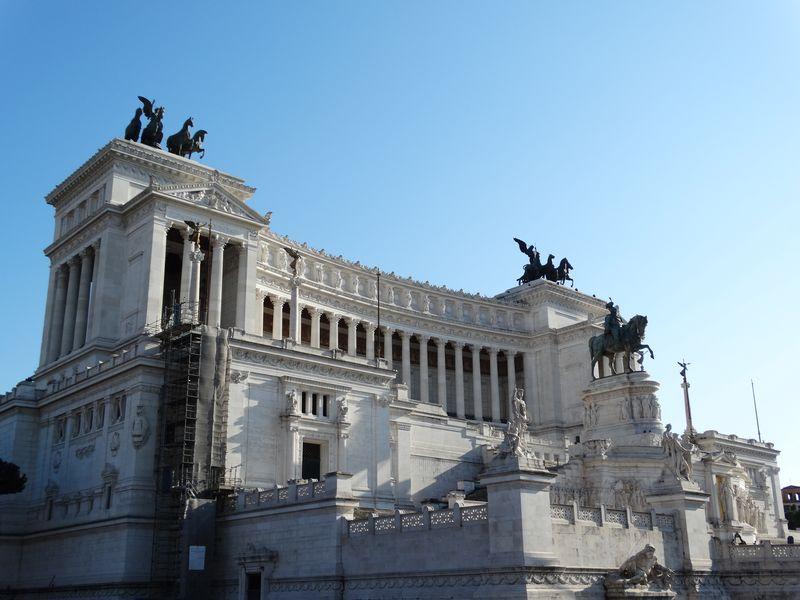 Monument Vittorio Emanuele II mit dem Vaterlandsaltar