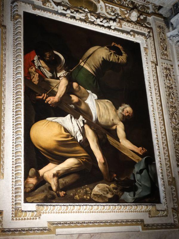eines der Caravaggio-Gemälde