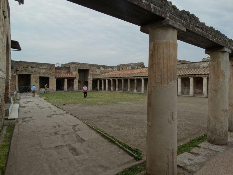 Innenhof der Zentralthermen