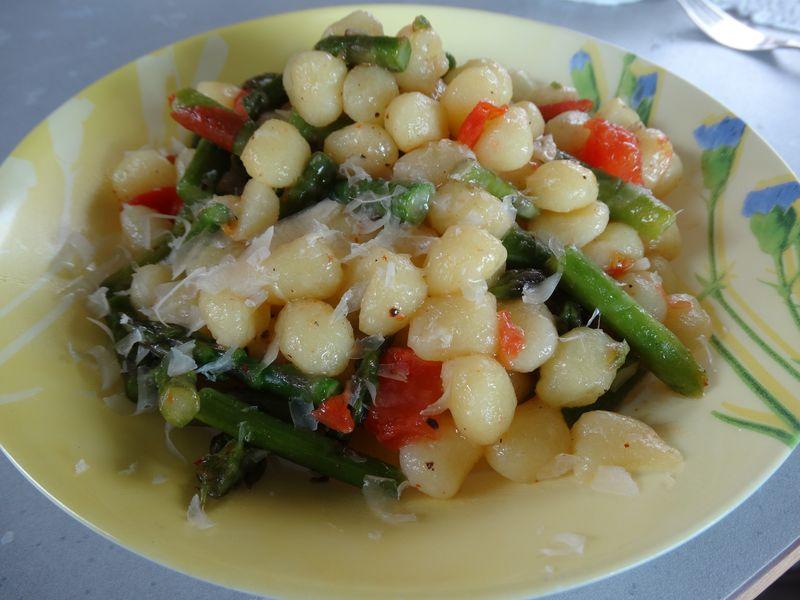 Eigenproduktion: Gemüse-Gnocchettini