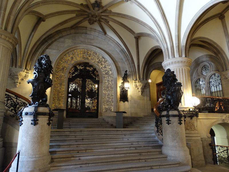 Treppenaufgang zum Senatsflügel