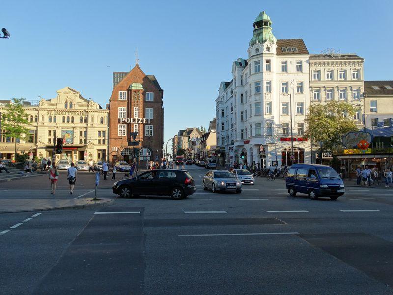 Ecke Reeperbahn und Davidstraße