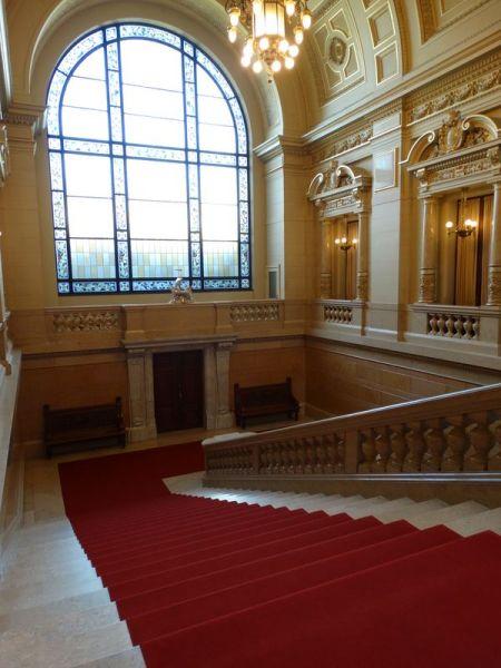 Treppenhaus der Bürgerschaft