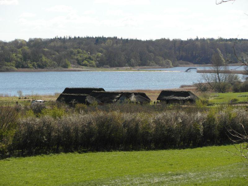 Blick über das ehemalige Siedlungsgebiet