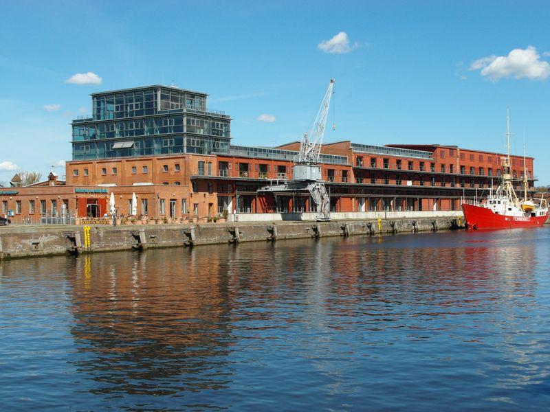 Lofts im ehemaliegen Hafengebäude