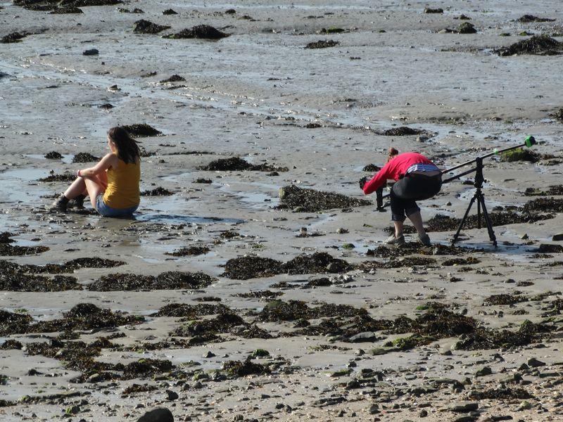 Fotoshooting in der Baie
