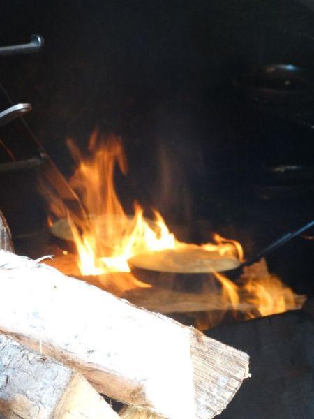 die berühmten Omelettes der Mére Poulard