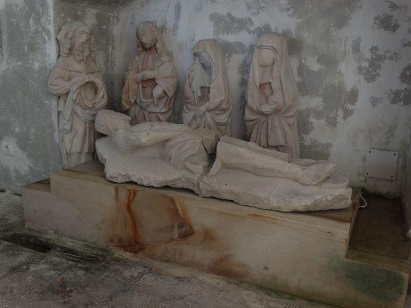 Darstellung der Grablegung Jesu