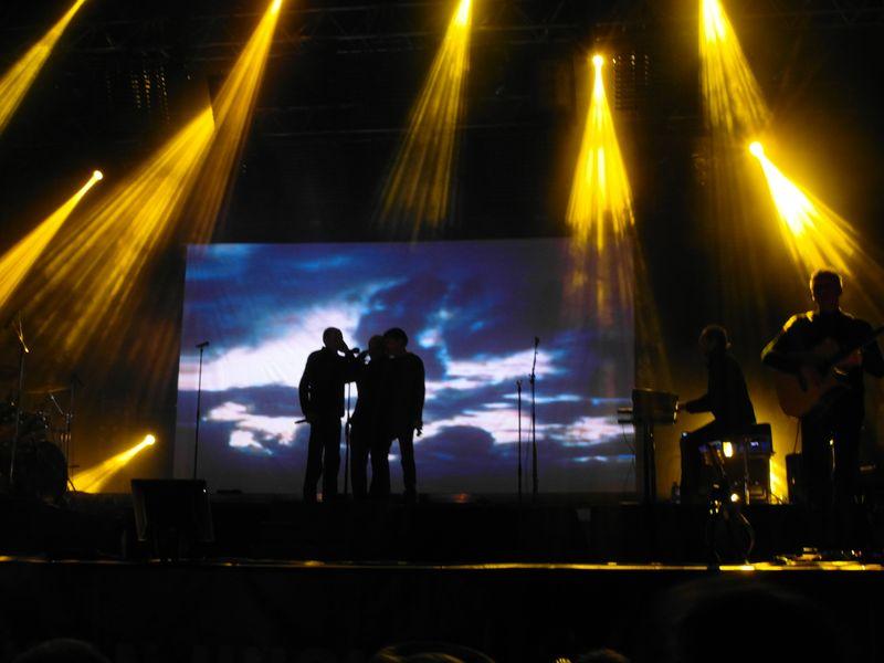 korsicher Pulifunie-Gesang mit Schattenwirkung