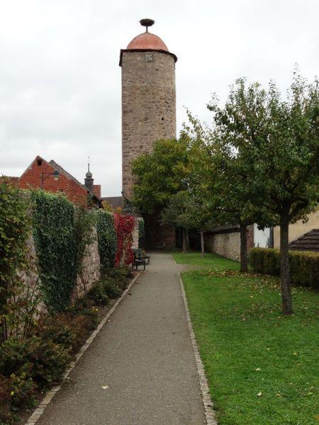 Mönchsturm am Kunstgarten