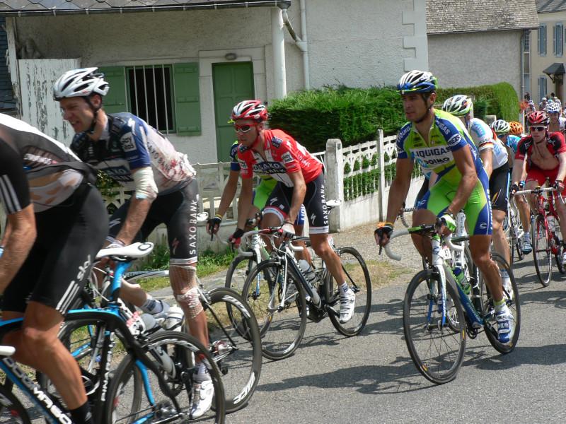 Anstieg zum Col du Solour in 2010.