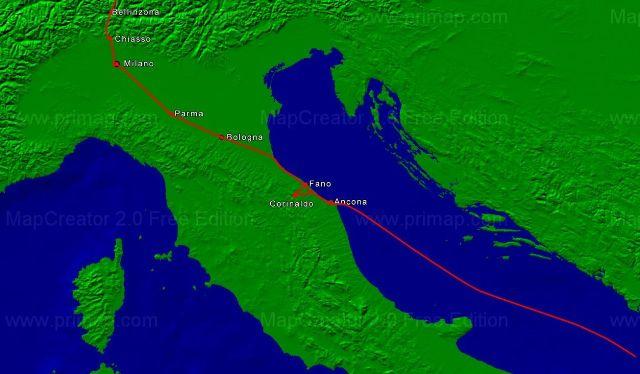 Griechenland Herbst 2010 Anreise3