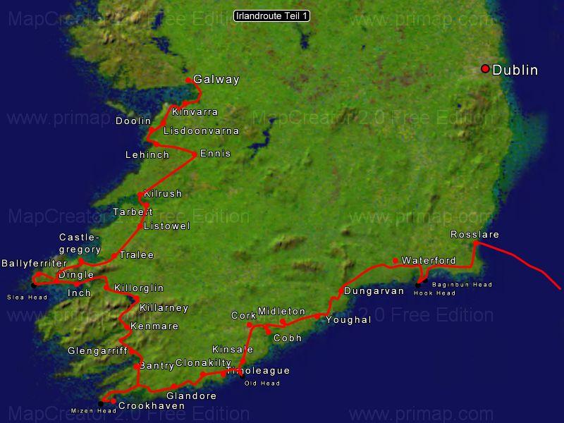 Irland sommer 2008 Detail Sued