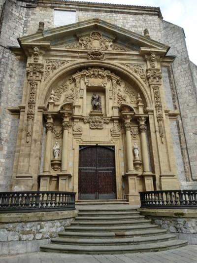 Eingang der Iglesia San Juan Bautista