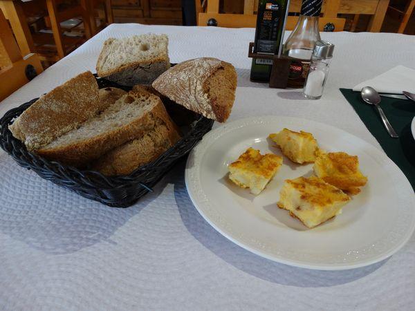 Gruß aus der Küche und genügend Brot