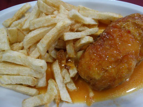 Muslo de Pollo Relleno
