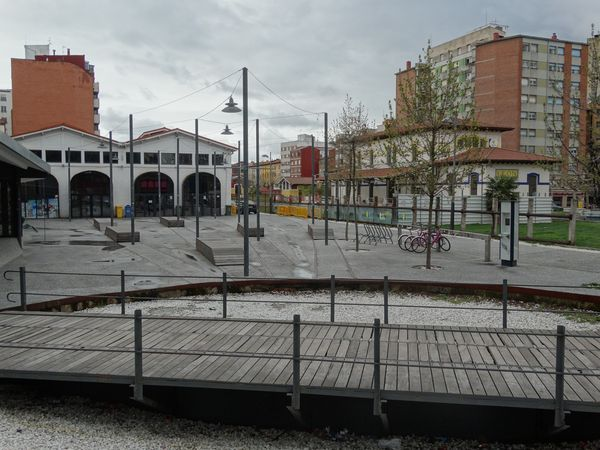 alter Bahnhof und Gleisdreieck