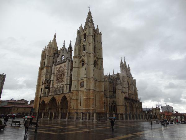 Kathedrale von Leon aus dem 13. Jhdt.