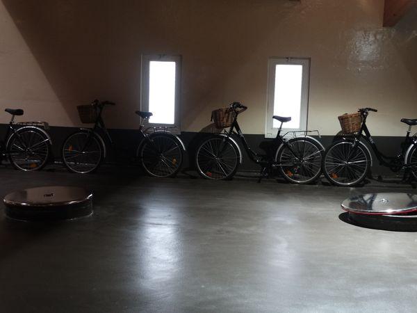 Dienst-Fahrräder
